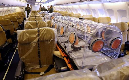 Misjonarz zarażony wirusem Ebola został przetransportowany do Hiszpanii
