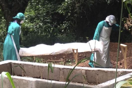 Ofiara wirusa Ebola