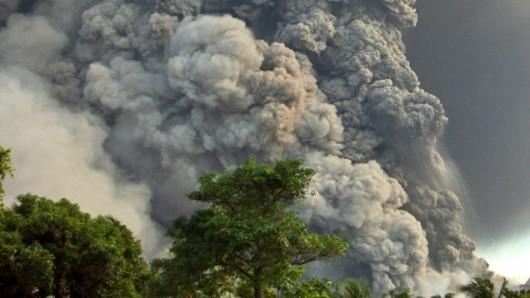 Papua-Nowa Gwinea - Potężna erupcja wulkanu Tavurvur 5