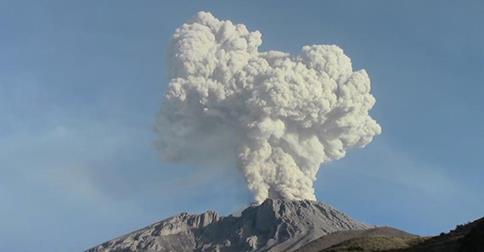 Peru - Wulkan Ubinas