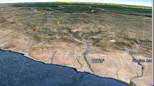 Peru - trzęsienie ziemi