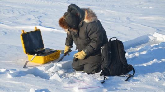 Pokrywa śnieżna w Arktyce 1