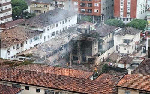 Santos, Brazylia - Katastrofa samolotu z kandydatem na prezydenta 2