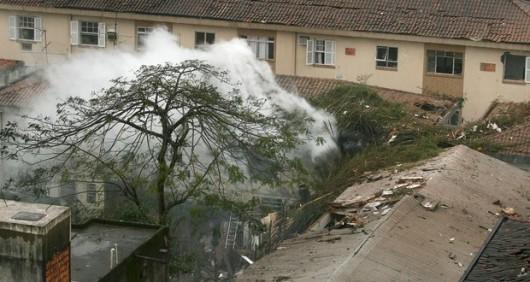 Santos, Brazylia - Katastrofa samolotu z kandydatem na prezydenta 3