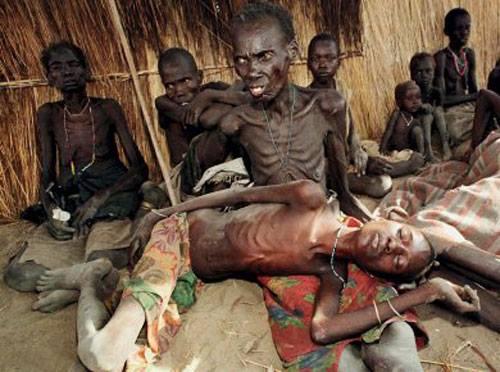 Sudan Południowy - Na klęskę głodu i śmierć może dotknąć 4 mln ludzi w tym 50 tys. dzieci 2