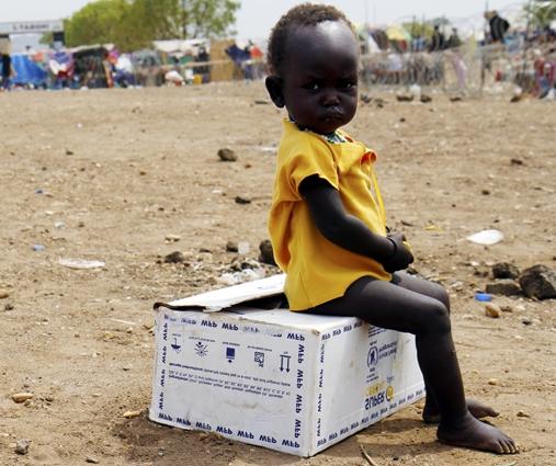 Sudan Południowy - Na klęskę głodu i śmierć może dotknąć 4 mln ludzi w tym 50 tys. dzieci