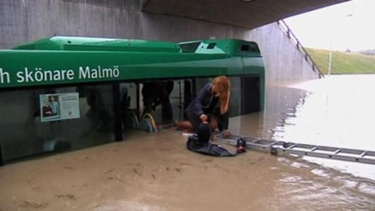 Szwecja - Deszcz w Malmö 3