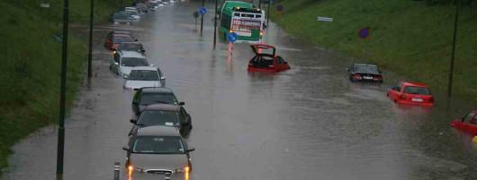 Szwecja - Deszcz w Malmö