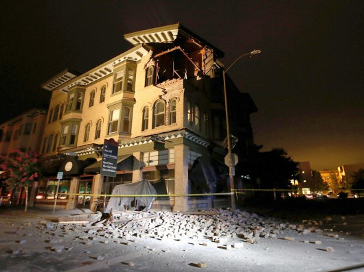 6.0 Earthquake Rattles Northern California