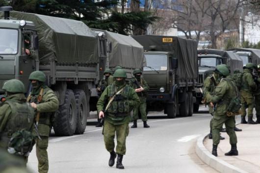 Ukraina - Wkroczyło rosyjskie wojsko