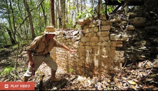 W meksykańskiej dżungli odkryto dwa miasta Majów 3