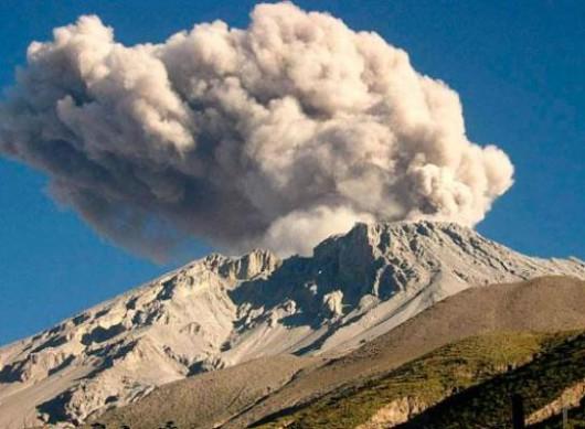 Wulkan Ubinas w Peru