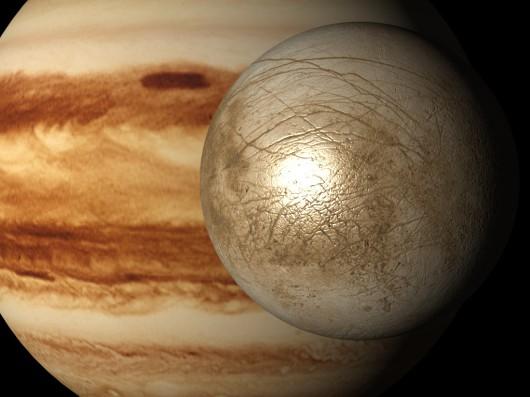 Europa - Księżyc Jowisza