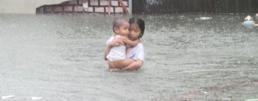 Filipiny - W ciągu 6 godzin spadła norma z połowy miesiąca 1