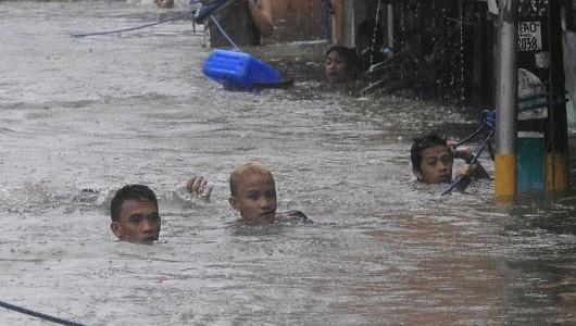 Filipiny - W ciągu 6 godzin spadła norma z połowy miesiąca 6