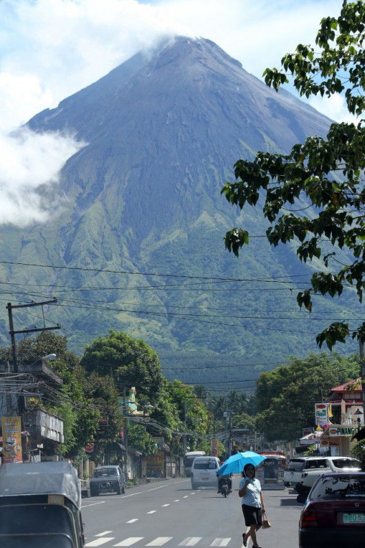 Filipiny - Wulkan Mayon 2