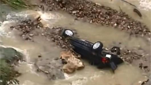Francja - Ogromne ulewy na południu kraju spowodowały gwałtowne powodzie 6