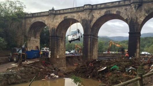 Francja - Potężna burza przeszła przez południe kraju 2