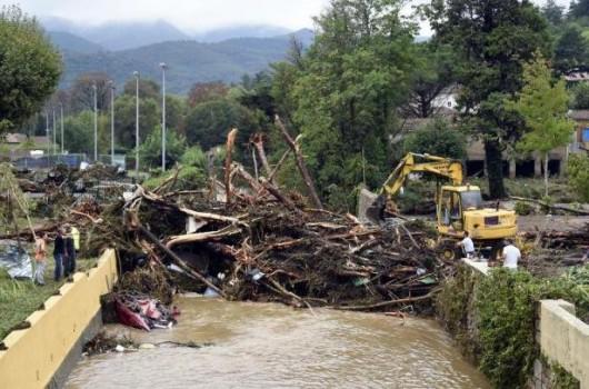 Francja - Potężna burza przeszła przez południe kraju 4