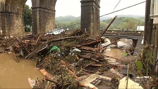 Francja - Potężna burza przeszła przez południe kraju 5