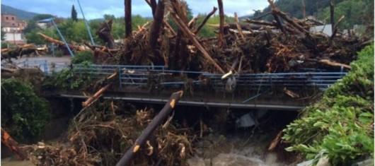 Francja - Potężna burza przeszła przez południe kraju 6