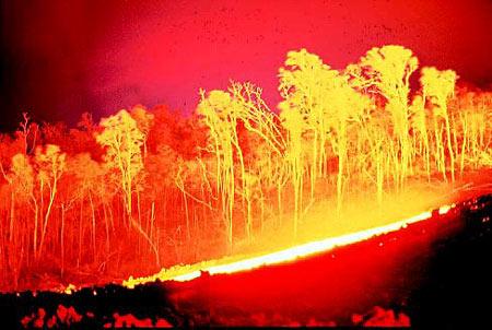 Hawajski wulkan Kilauea wypuszcza ogromne ilości lawy 1