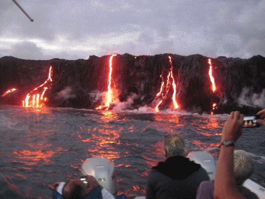 Hawajski wulkan Kilauea wypuszcza ogromne ilości lawy 2