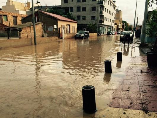Hiszpania - W godzinę spadło 66 l na mkw, największe szkody w rejonie Murcji 2