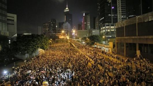 HongKong - Protesty 1