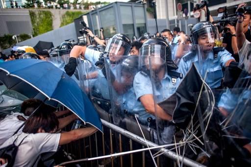 HongKong - Protesty 3