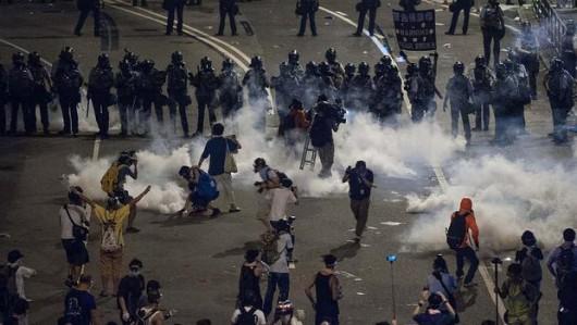 HongKong - Protesty 4