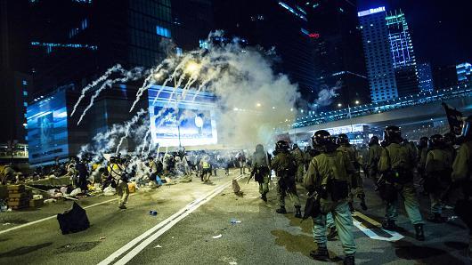 HongKong - Protesty 5