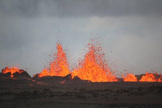 Islandia - Erupcja Bárðarbunga