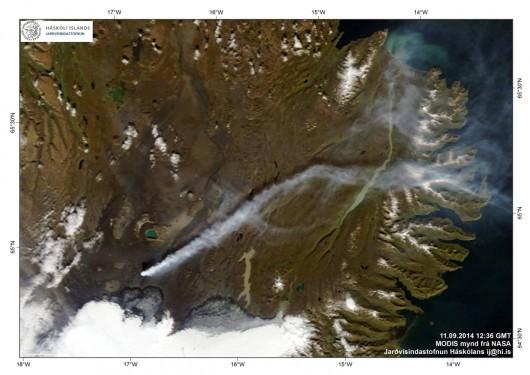 Islandia - Trwa jedna z największych erupcji szczelinowych w Holuhraun 3