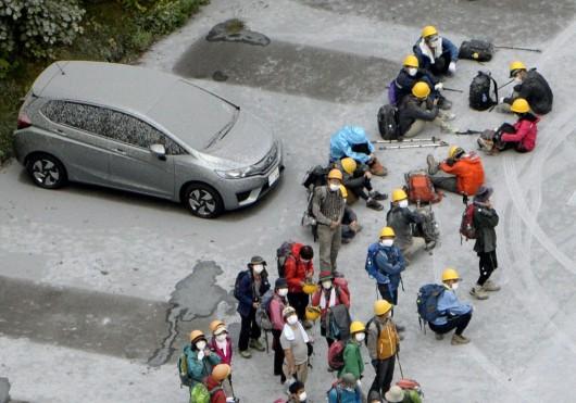 Japonia - Wulkan Ontake zabił co najmniej 30 osób 4