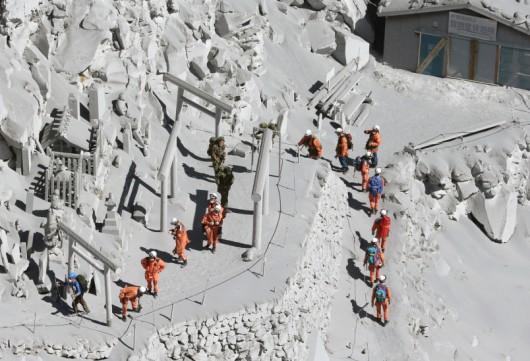 Japonia - Wulkan Ontake zabił co najmniej 30 osób 5