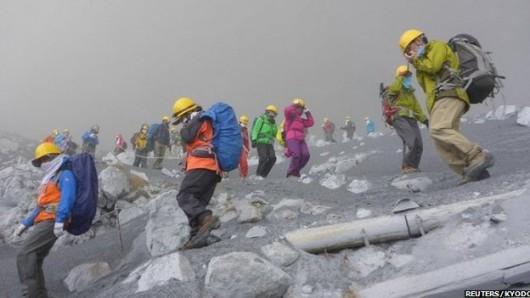 Japonia - Wulkan Ontake zabił co najmniej 30 osób 7