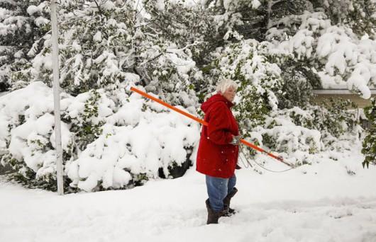 Kanada - Spadł pierwszy śnieg, zima przyszła dużo szybciej niż zwykle 3