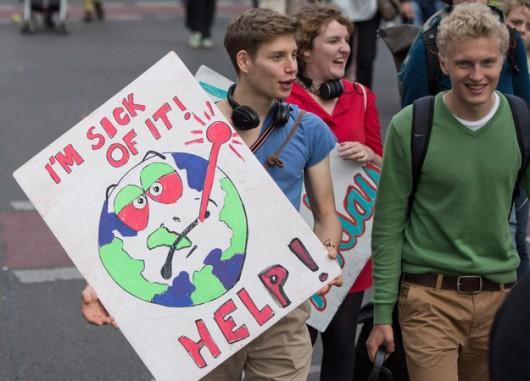 Manifestacja w Berlinie /JOERG CARSTENSEN /PAP/EPA