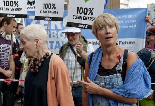 Manifestacja w Londynie /WILL OLIVER /PAP/EPA