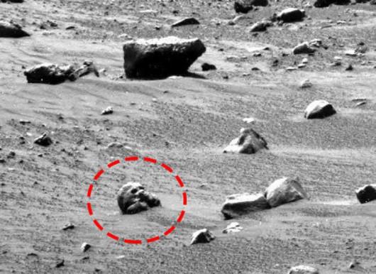 Mars - Czaszka
