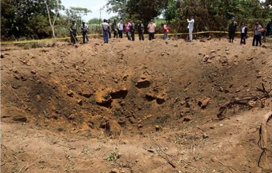 Nikaragua - W nocy spadł meteoryt 3