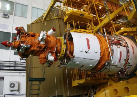 Satelity Jantar mogą wyglądać podobnie do tego satelity Resurs, bowiem zbudowano je w oparciu o ten sam uniwersalny moduł główny