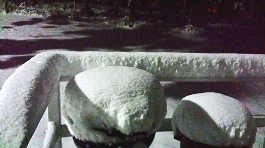USA - Bardzo wczesna zima w Wyoming, Dakocie i Kolorado 1