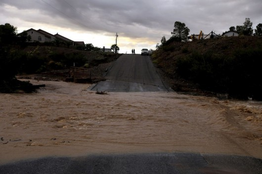 USA - Przez cyklon Norbert okolice Las Vegas znalazły się pod wodą 6