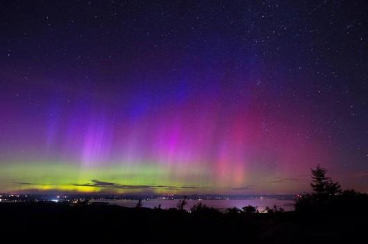 USA - Zorza polarna widoczna była w Parku Narodowym Acadia 3