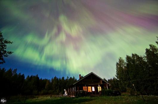 USA - Zorza polarna widoczna była w Parku Narodowym Acadia
