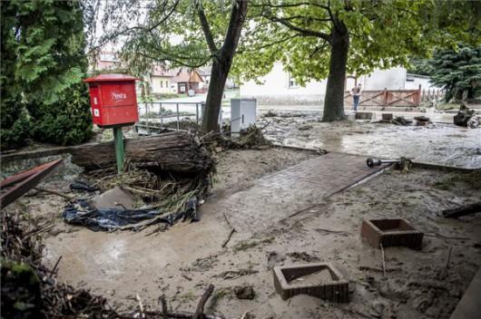 Węgry - Pod woda zachodnia część kraju 2