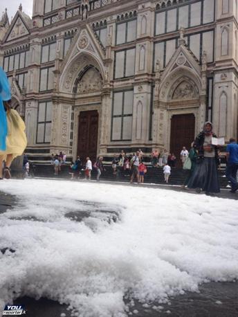 Włochy - Bomba woda we Florencji 3