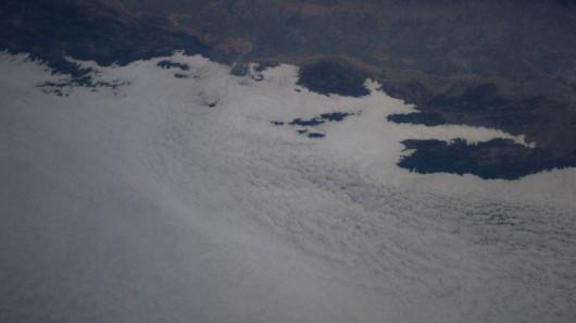 Warstwa chmur i mgły w rejonie San Francisco